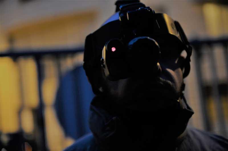 Ronde de sécurité sur paris (75) et region ile de france Intervention sur alarme casque à vision nocturne