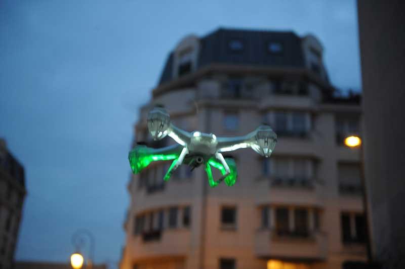 Ronde de sécurité sur paris (75) et region ile de france Intervention sur alarme drone de surveillance